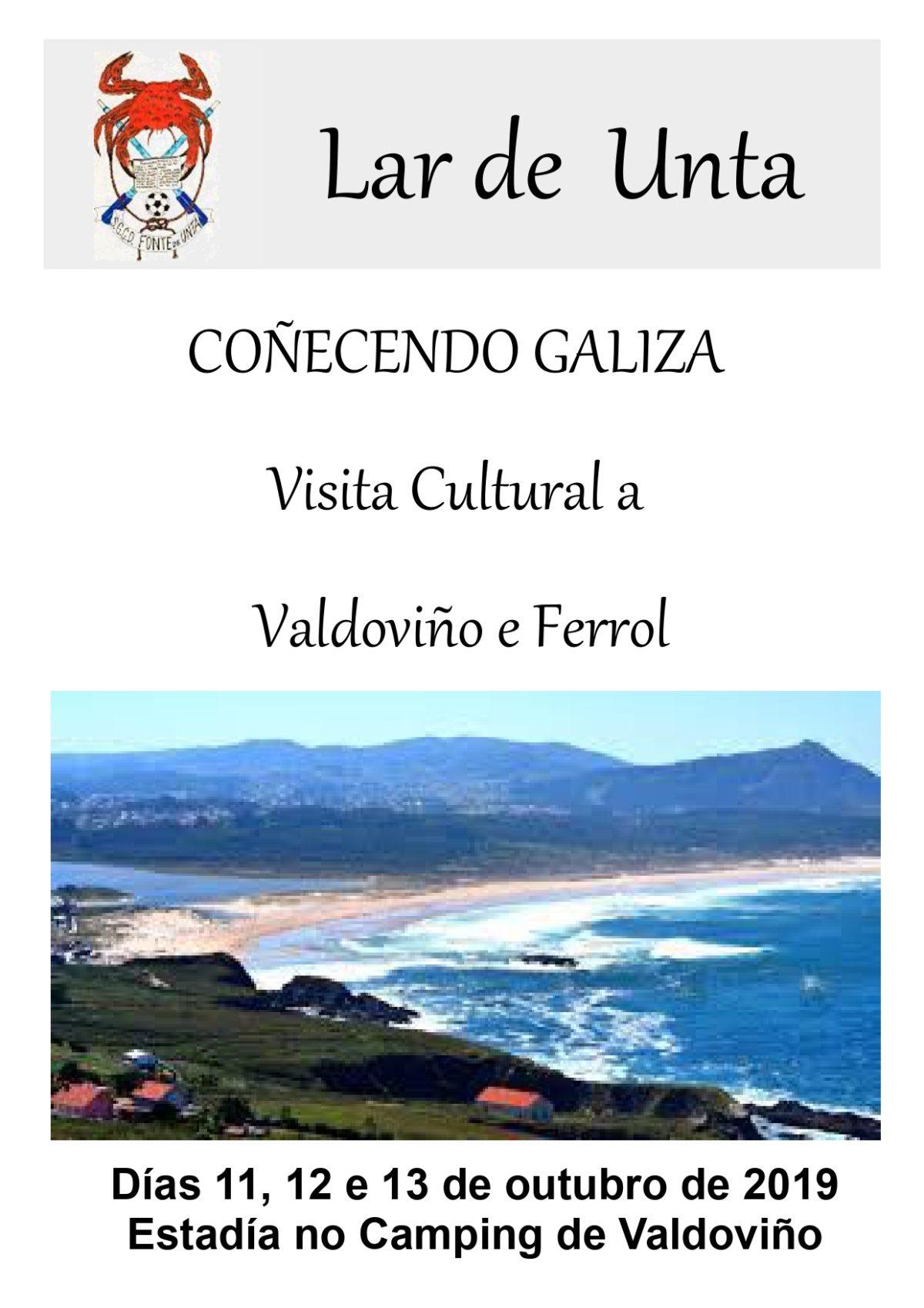 Coñecer Galiza – Saída a Valdoviño e Ferrolterra 2019
