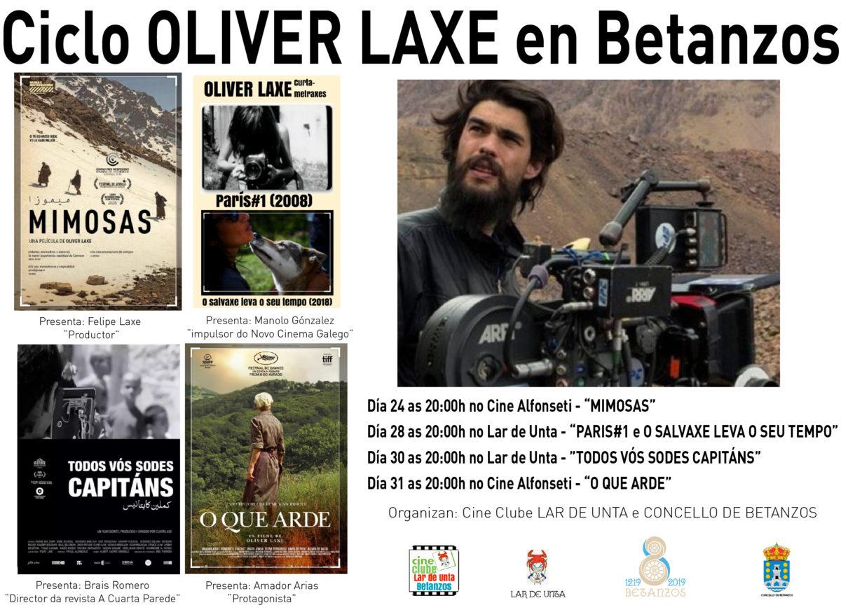 Cine Clube Lar de Unta: Ciclo Oliver Laxe