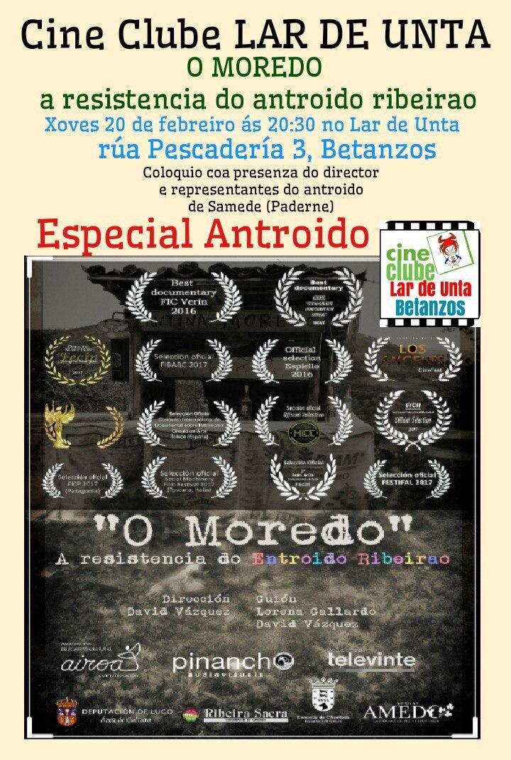 "Cineclube Lar de Unta: ""O Moredo"""