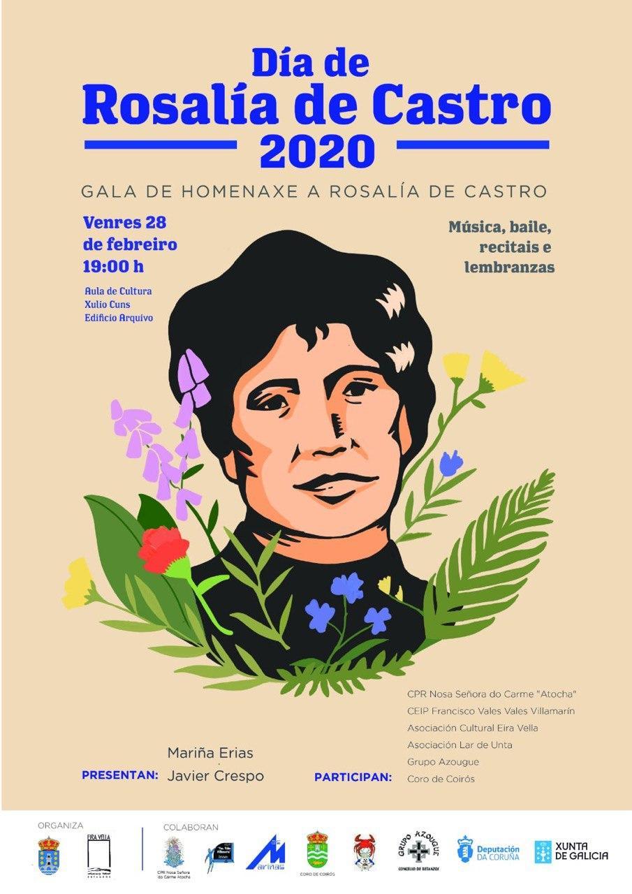 Gala Homenaxe a Rosalía de Castro