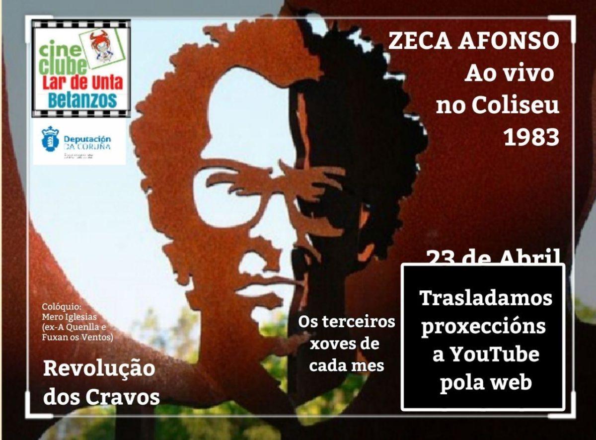 Lar de Unta celebra o XLVI Aniversario da Revoluçao dos Cravos con Zeca Afonso