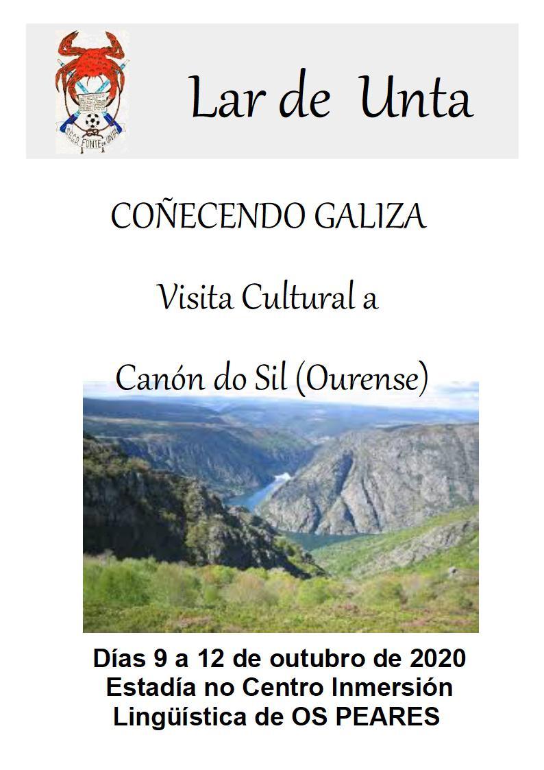 Coñecer Galicia – Os Peares e Cañón do Sil 9 a 12 de Outubro