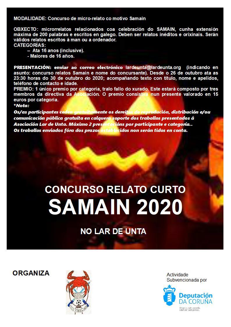 SAMAIN 2020: CONCURSO MICRO-RELATOS – BASES