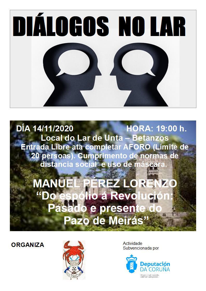 Diálogos No Lar: Con Manuel Pérez Lorenzo e o PAZO DE MEIRÁS