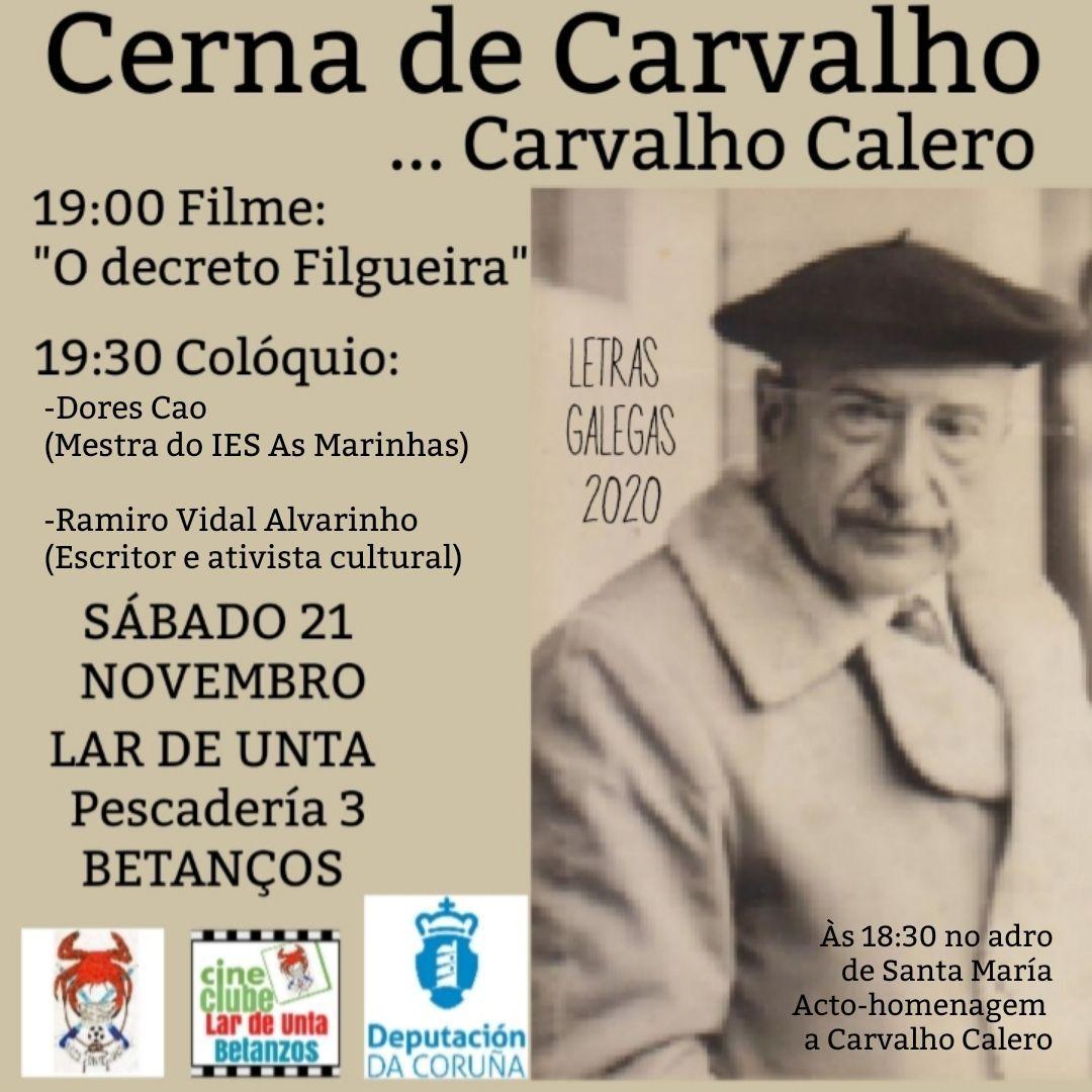 Homenaxe a Don Ricardo: CERNA DE CARVALHO … CARVALHO CALERO