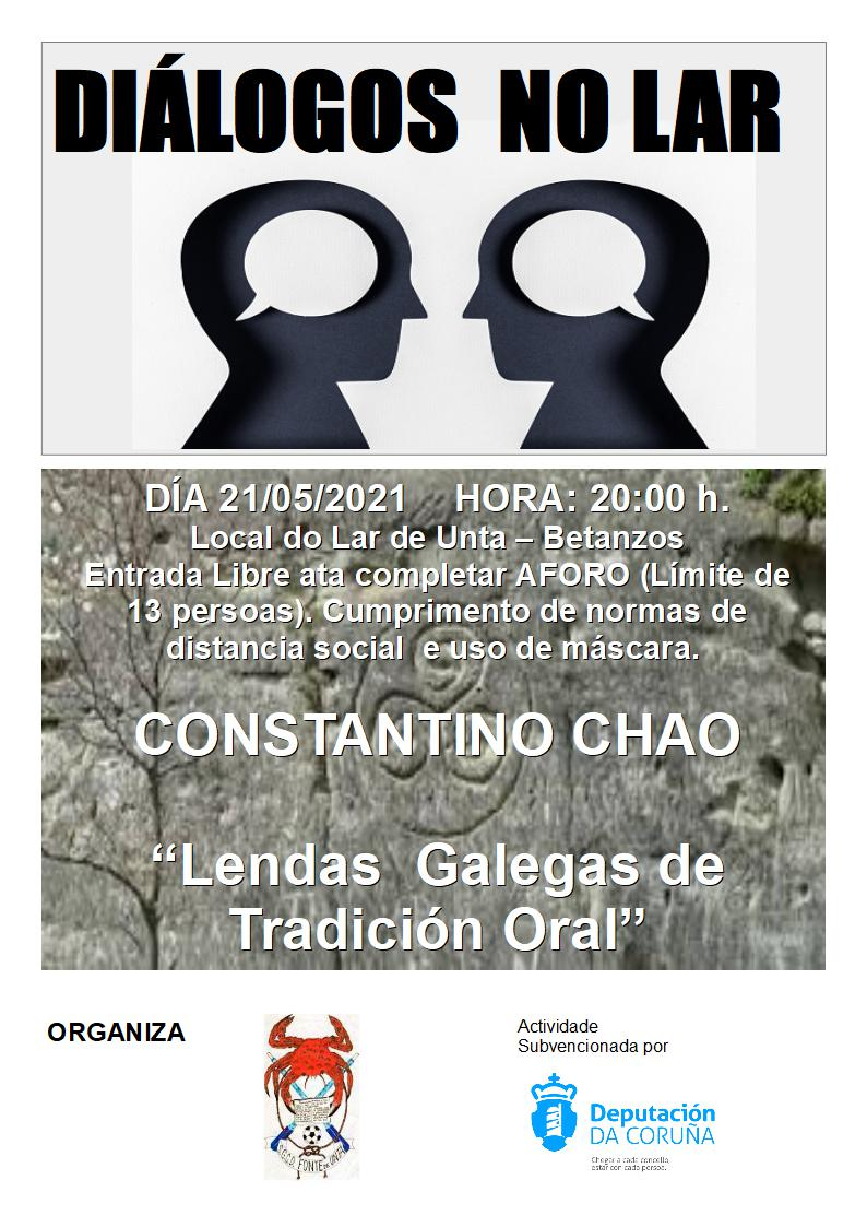 Diálogos no Lar: Constantino Chao e as Lendas Galegas de Tradición Oral